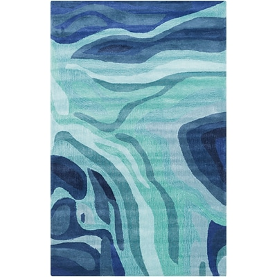 Surya Pigments PGM3003-58 Hand Tufted Rug, 5 x 8 Rectangle