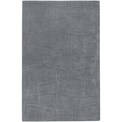 Surya Candice Olson Sculpture SCU7506-811 Hand Loomed Rug, 8 x 11 Rectangle