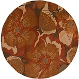 Surya Athena ATH5102-6RD Hand Tufted Rug, 6 Round