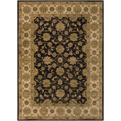 Surya Crowne CRN6009-811 Hand Tufted Rug, 8 x 11 Rectangle