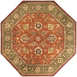 Surya Crowne CRN6019-8OCT Hand Tufted Rug, 8 Octagon