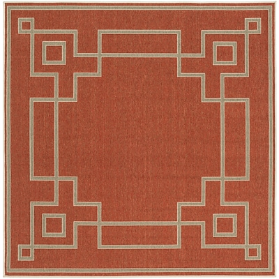 Surya Alfresco ALF9631-73SQ Machine Made Rug, 73 Square