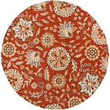 Surya Athena ATH5126-99RD Hand Tufted Rug, 99 Round