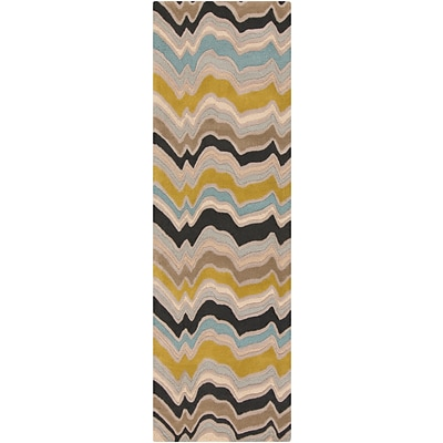 Surya Candice Olson Modern Classics CAN2029-268 Hand Tufted Rug, 26 x 8 Rectangle
