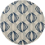 Surya Dream DST1175-8RD Hand Tufted Rug, 8 Round