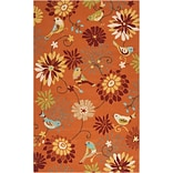 Surya Rain RAI1104-35 Hand Hooked Rug, 3 x 5 Rectangle