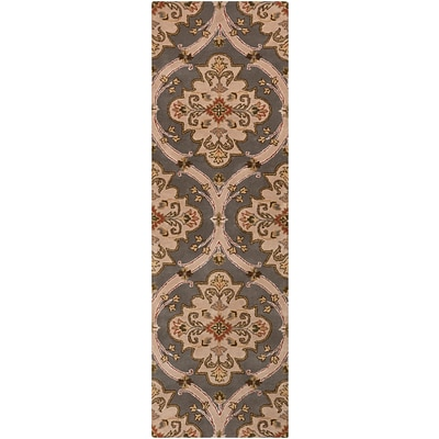 Surya Crowne CRN6026-268 Hand Tufted Rug, 26 x 8 Rectangle