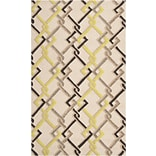 Surya Rain RAI1122-35 Hand Hooked Rug, 3 x 5 Rectangle