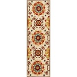 Surya Storm SOM7703-268 Hand Hooked Rug, 26 x 8 Rectangle