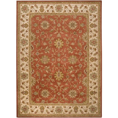 Surya Crowne CRN6002-811 Hand Tufted Rug, 8 x 11 Rectangle
