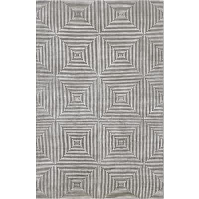 Surya Candice Olson Luminous LMN3005-46 Hand Knotted Rug, 4 x 6 Rectangle