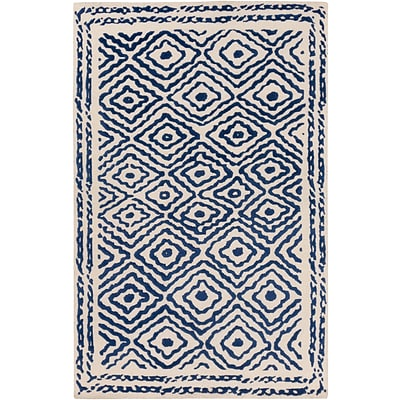 Surya Beth Lacefield Atlas ATS1002-58 Hand Knotted Rug, 5 x 8 Rectangle