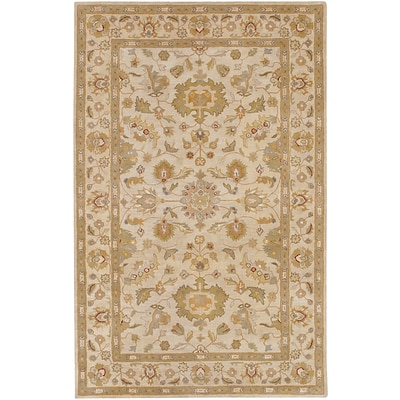 Surya Crowne CRN6011-58 Hand Tufted Rug, 5 x 8 Rectangle