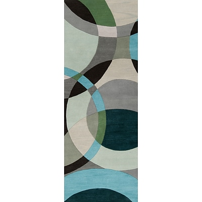 Surya Forum FM7157-268 Hand Tufted Rug, 26 x 8 Rectangle