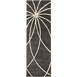 Surya Forum FM7173-268 Hand Tufted Rug, 26 x 8 Rectangle