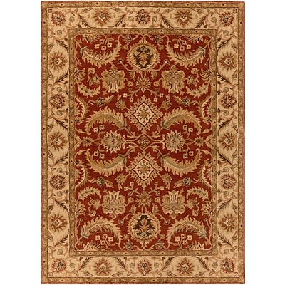 Surya Ancient Treasures A147-8RD Hand Tufted Rug, 8 Round