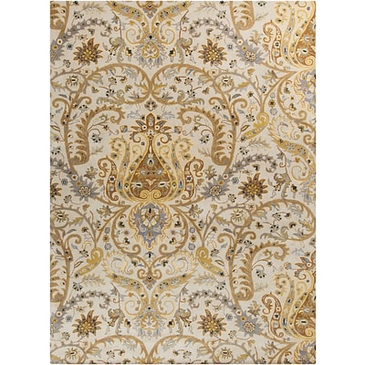 Surya Ancient Treasures A165-913 Hand Tufted Rug, 9 x 13 Rectangle