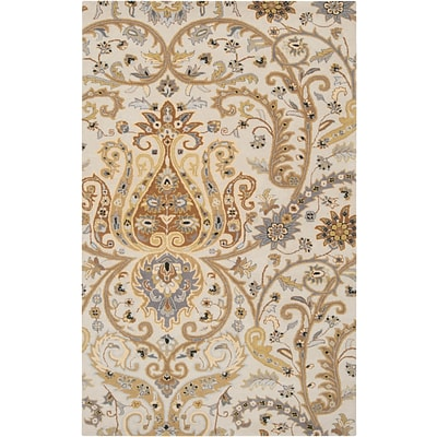 Surya Ancient Treasures A165-58 Hand Tufted Rug, 5 x 8 Rectangle