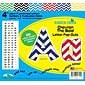 "Barker Creek 4"" Letter Pop-Outs, Nautical Chevron, 255/Pack"