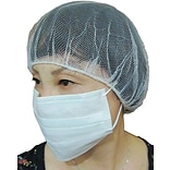 Keystone 109HPI-18-WH-1BG Latex Free Nylon White Hair Net, 18, 100/Pack