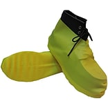 Keystone BC-RBR-25PR Yellow Latex Boot Covers, Large, 50/Box