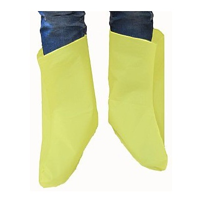 Keystone BC-EY-LARGE Yellow Vinyl Boot Covers, Large, 800/Box
