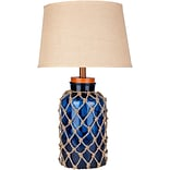 Surya Lamp in Navy blue