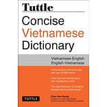 Tuttle Concise Vietnamese Dictionary: Vietnamese-English / English-Vietnamese