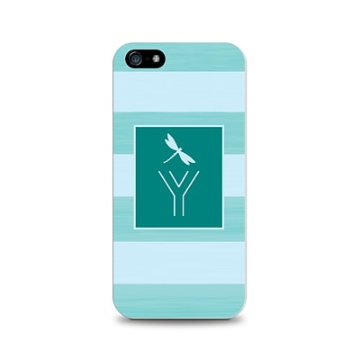 Centon OTM™ Critter Collection Teal Stripes Case For iPhone 5, Dragonfly - Y
