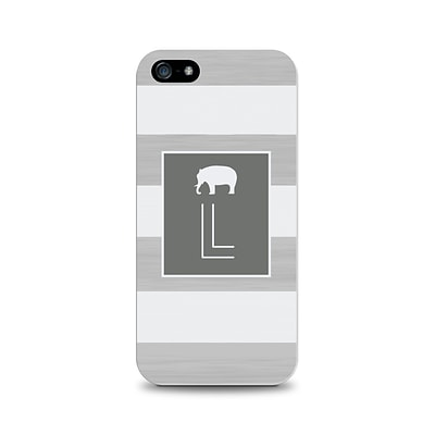 Centon OTM™ Critter Collection Gray Stripes Case For iPhone 5, Elephant - L