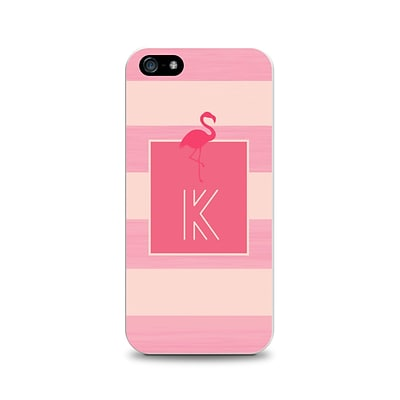 Centon OTM™ Critter Collection Pink Stripes Case For iPhone 5, Flamingo - K
