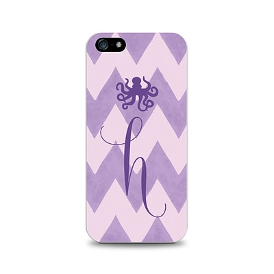 Centon OTM™ Critter Collection Purple Zig/Zag Case For iPhone 5, Octopus - H