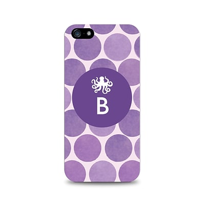 Centon OTM™ Critter Collection Purple Dots Case For iPhone 5, Octopus - B