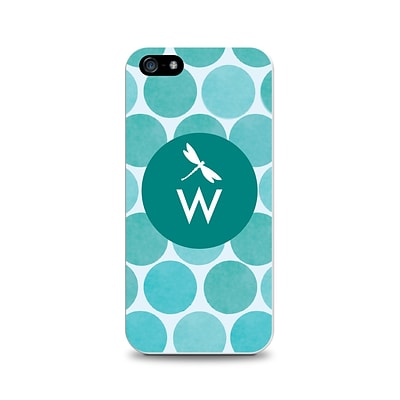 Centon OTM™ Critter Collection Teal Dots Case For iPhone 5, Dragonfly - W