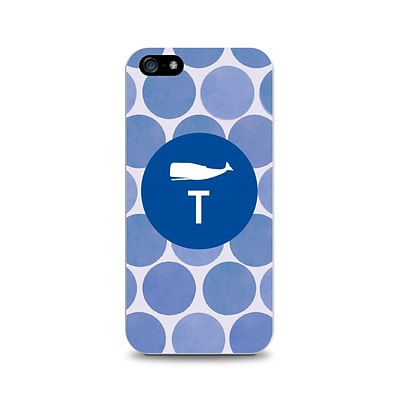 Centon OTM™ Critter Collection Blue Dots Case For iPhone 5, Whale - T