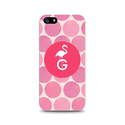 Centon OTM™ Critter Collection Pink Dots Case For iPhone 5, Flamingo - G