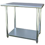 Buffalo Tools Sportsman™ 36 Stainless Steel Work Table, Silver