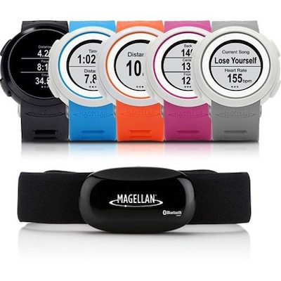 PNK Running Watch With Heart Rate Monitor