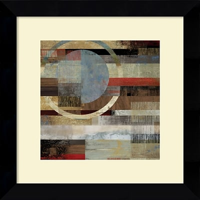 Amanti Art Industrial II Framed Art Print by Tom Reeves, 19.63H x 19.63W