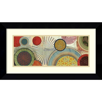 Amanti Art Commotion II Framed Art Print by Tom Reeves, 14.63H x 26.63W