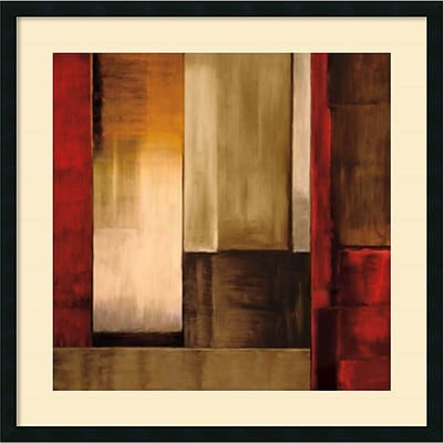 Amanti Art Crossover I Framed Art Print by Aaron Summers, 34H x 34W