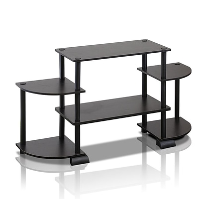 Furinno® TV Entertainment Center; Espresso & Black