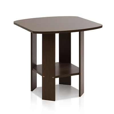 Furinno® 19.6 x 20 Wood Simple Design End/Side Table