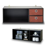 Furinno® Hutch Wood Wall-Mnted Storage/Desk