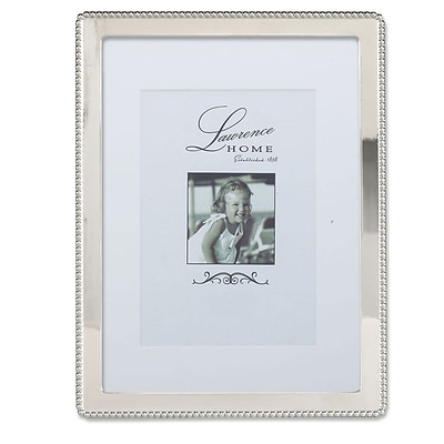 Lawrence Frames 710780 Silver Metal 8 x 10 Picture Frame
