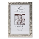 Shimmer Silver Metal 4 x 6 Picture Frame