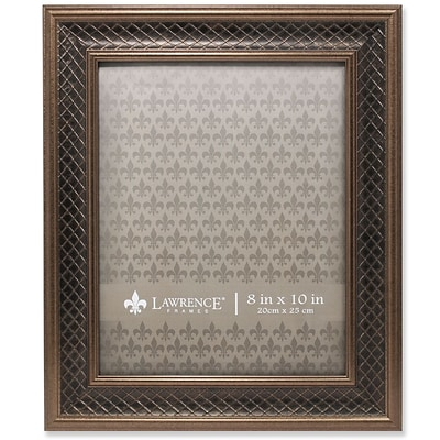 Lawrence Frames Lawrence Home 8L x 10W Polystyrene Gallery Picture Frame 536680