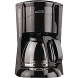 Brentwood Black 12 Cup Digital Coffee Maker