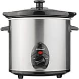 Brentwood 3 Quart Stainless Steel Cooker