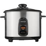 Brentwood 8 Cup Stainless Steel Rice Cooker
